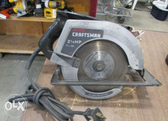 Craftsman Circular Saw Made in USA