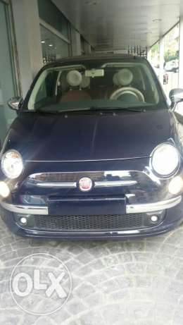 Fiat 500s Convertible