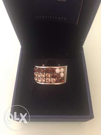 Swarovski ring أشرفية -  2