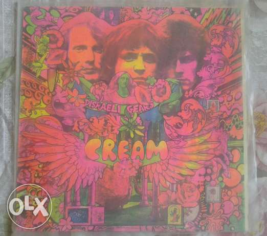Cream vinyl records