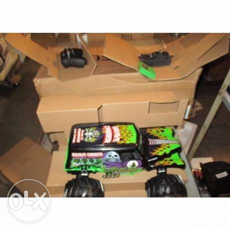 New Bright Grave Digger RC