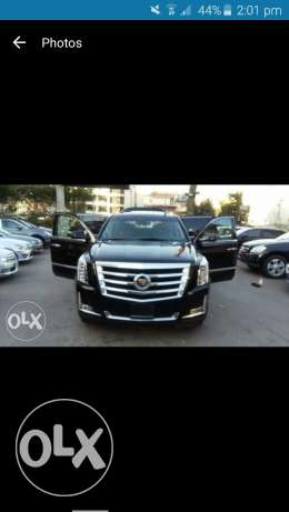 Cadilac Escalade model 2015 luxury package clean carfax