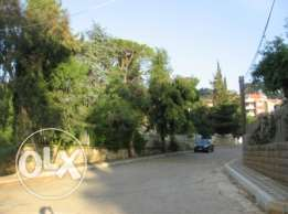 Land 1230 sqm with VIEW for sale in Broumana, North Metn
