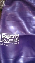 body sculpture Purple exercise ball