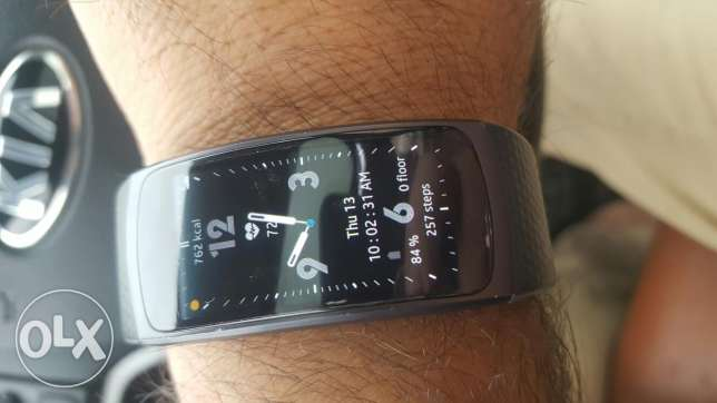 Gear Fit 2 with screen protector