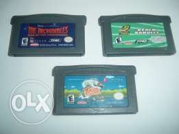 collection of nintendo gameboy advance or ds games starting 3.3$