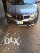 Subaru impreza 1.6 2007 full for sale by first owner. 135,000 Km