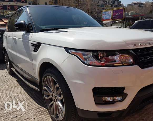 Range Rover sport supercharged, excellent conditions 2014