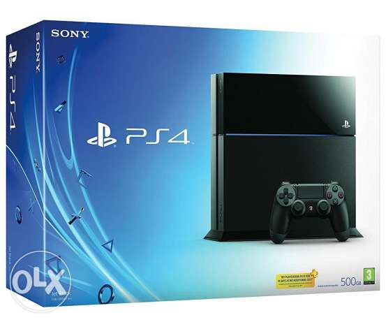 Ps4 used for 2 months like new, l ps4 europian صور -  1