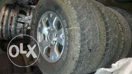 Tacoma rims with new tires