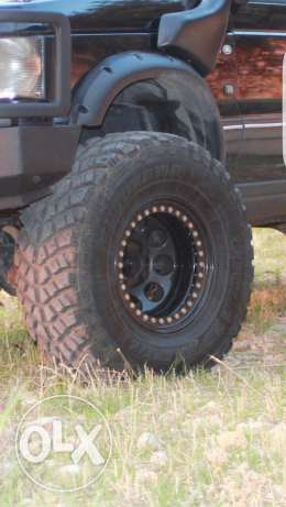 rims and tires for range p38 for sale. كسروان -  2