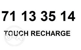 NEW touch recharge