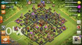 Clash Of Clans lvl 133 th 10 and u can hage your name