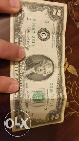 original 1976 2$ bill in excellent condition only for 75$