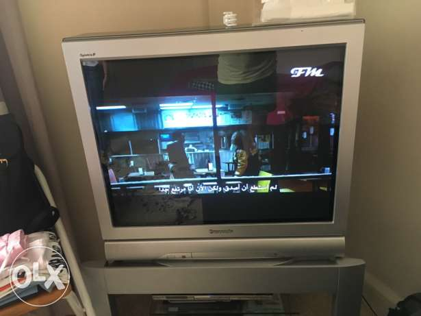 tv Panasonic 38 like brand new راس  بيروت -  2