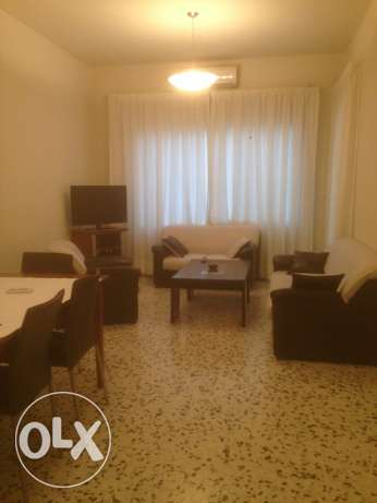 AMH187,Furnished apartment for rent in Achrafieh, Sioufi, 100 sqm.
