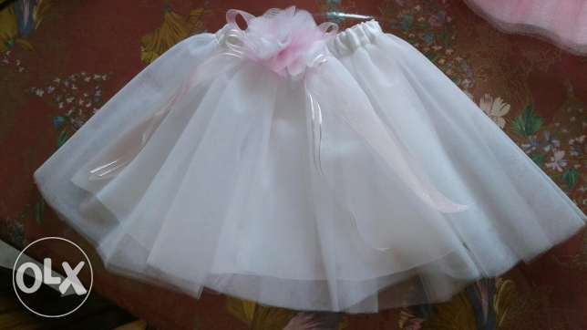 Hand made tutu + band for babies and kids