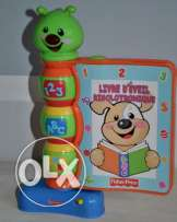 Livre Interactif Fisher Price