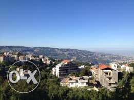 Furnished apt with a sea and mountain view in Koleiat, Keserwan