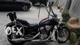 Motorcycles steed
