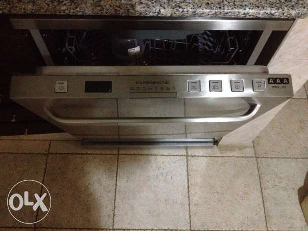 Dishwasher - Campomatic - Made in Italy-Stainless steel-Ref.DW911ES