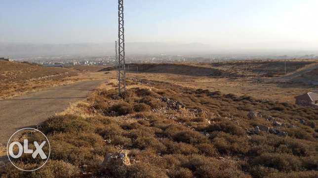 land in twiated close to jdita with open view .