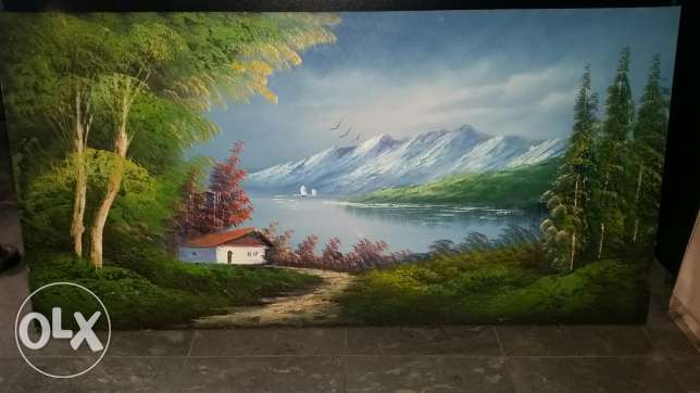 Amazing oil painting 122/61 cm