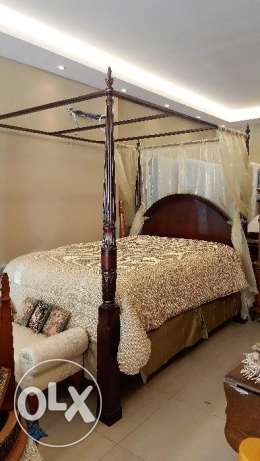 CANADIAN FURNITURE - Poster Bed (Queen Size)