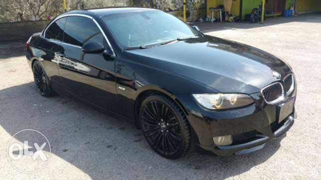 BMW 328i model 2007 coupe + kachef