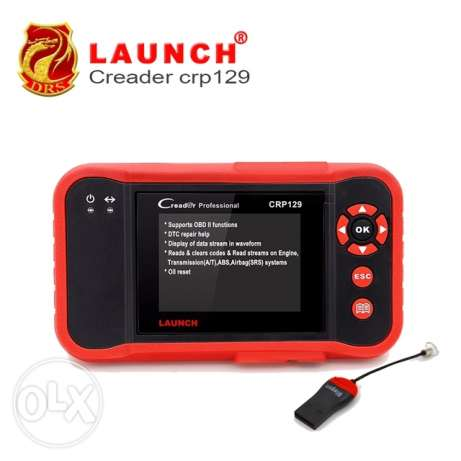 Scanner original Launch code reader crp 129