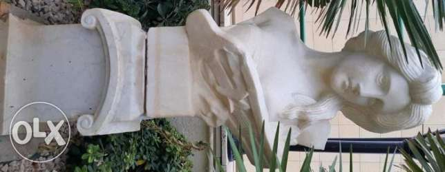 Outdoor marble and bronze sculptures and statues راس  بيروت -  1