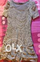 guipure lace dress from turkey