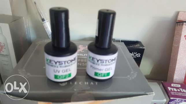 Top coat & base coat gelish البطركية -  1