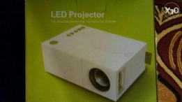 Led projector 600 lumens
