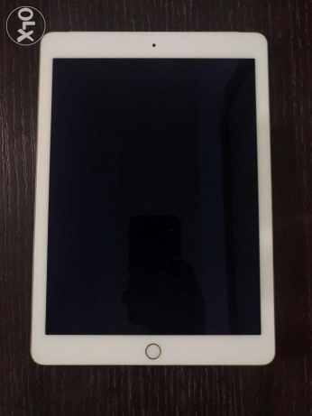 iPad Air 2 64GB wifi + cellular, gold. Mint. Full box + cover
