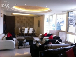 fully furnished apartment for rent in Ghadir 200sqm