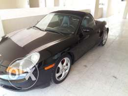 Porsche Boxter 2001 - full vitesse - low mile age - black edition car