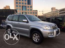 Toyota Prado VX 2008 Silver Fully Loaded in Excellent Condition!