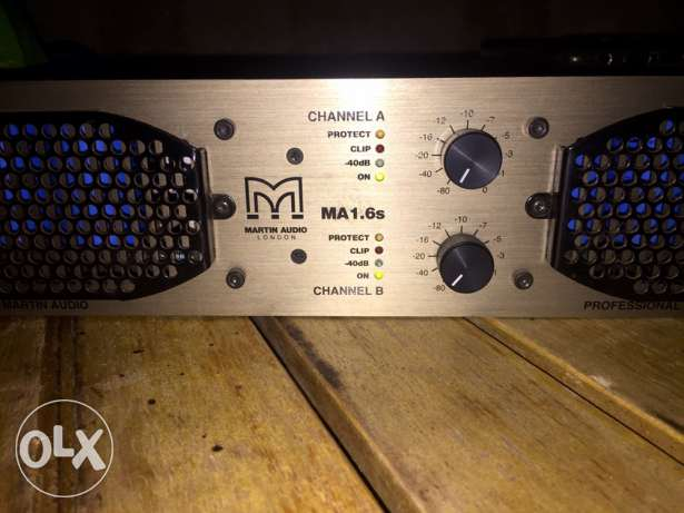 martin audio by labgruppen 1.6s