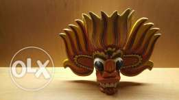 Water and Fire Spririt Mask Origin of Sri Lanka