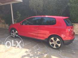 Used 2007 VW Golf GTI - Red Color