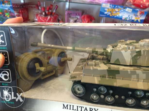 Brand New Remote Controlled Miltary War Tank