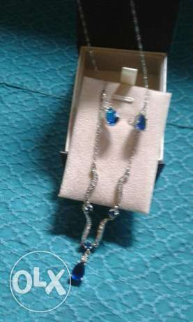 2 sets of necklaces with earrings زلقا -  1