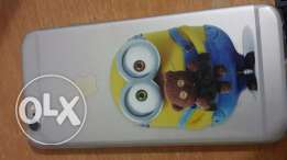 Minions Covers For Iphone 6/6s Transparant Silicon