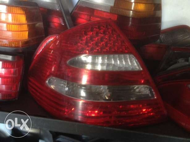 Mercedes w211 stop Chmel led