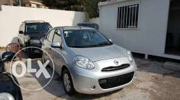 Micra 2013 full options like new 24000km on services company تقسيط بنك