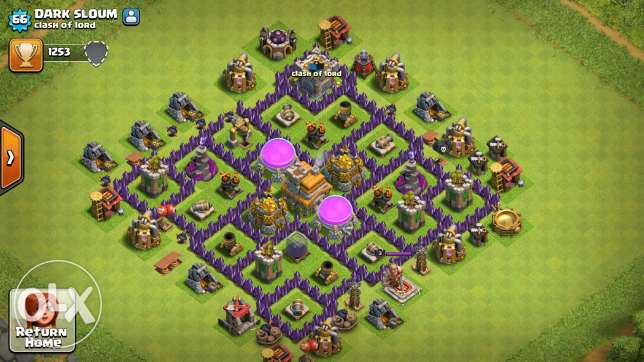 Clash of clans towhal 8 /7 عكار -  1