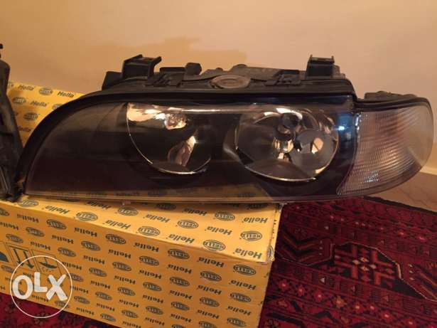 BMW E39 Hella headlights crystal شويفات -  2