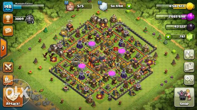 Coc awesome base8