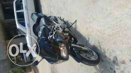Motorcycle for sale or trade on a car